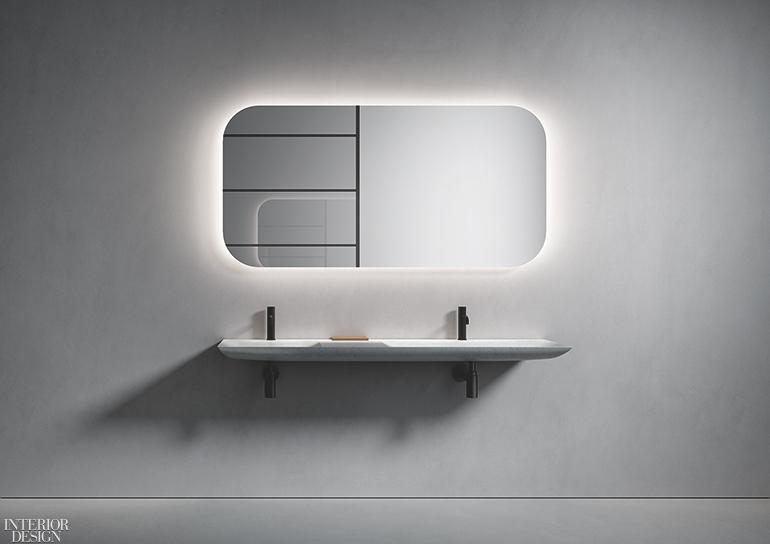 Norbert Wangen Designs Two Sleek Marble Basins For Boffi