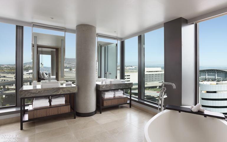 Braytonhughes Design Studios Modernizes The Grand Hyatt At San Francisco International Airport Interior Design Magazine