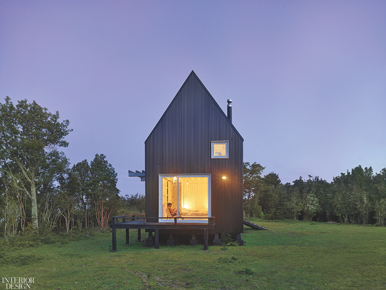 beebaaf06d Architect Mathias Klotz Creates a Pair of Cottages on a Remote Island in  Chile