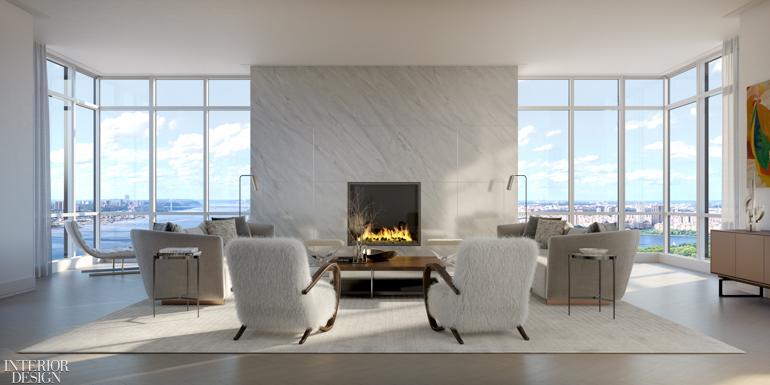 CetraRuddy Designs Interiors for 200 Amsterdam Condominium ...