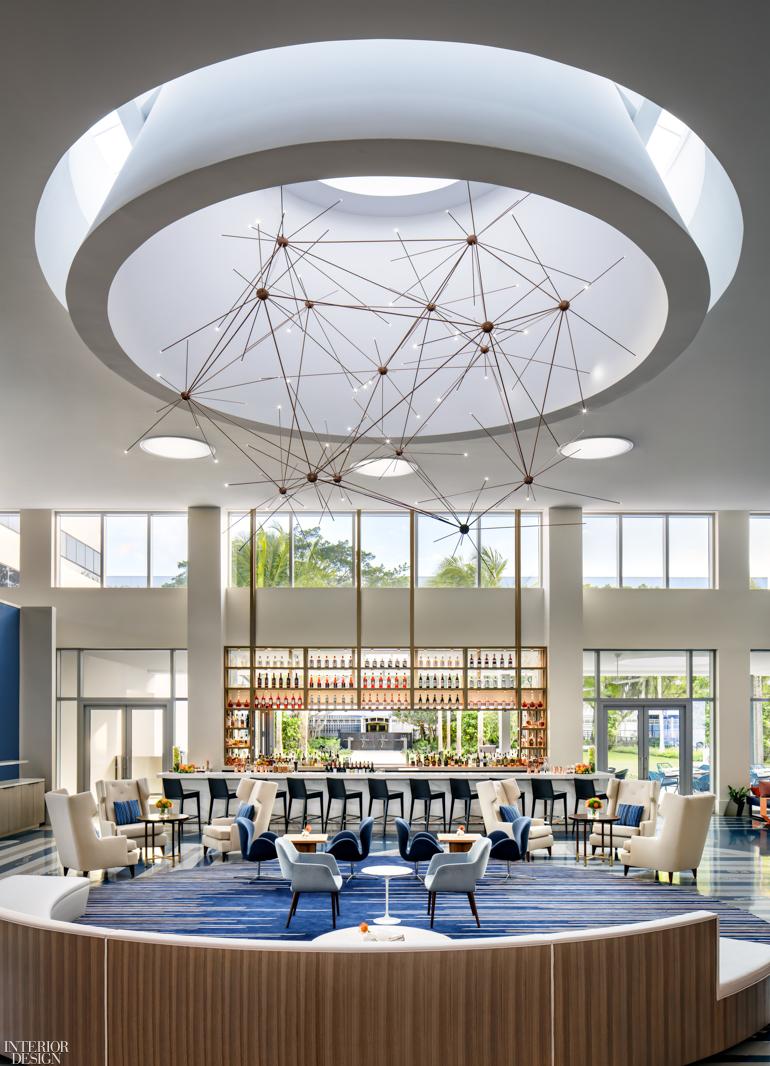 Dash Design Looks To The Sky For New Le Meridien Dania Beach Hotel At Fort Lauderdale Airport Interior Design Magazine