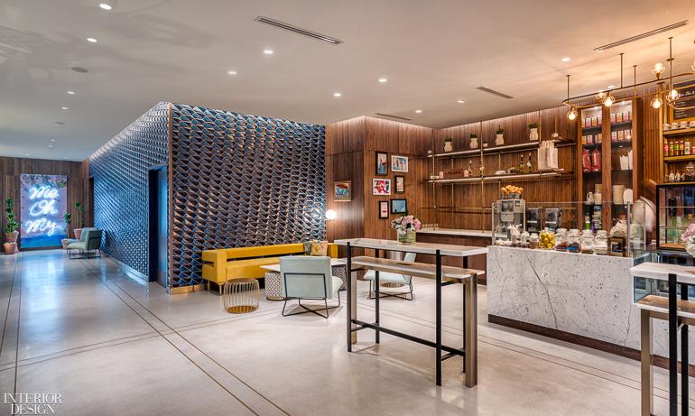 Designagency Gives Fort Lauderdale S The Dalmar Hotel A Mid Century Modern Cachet Interior Design Magazine