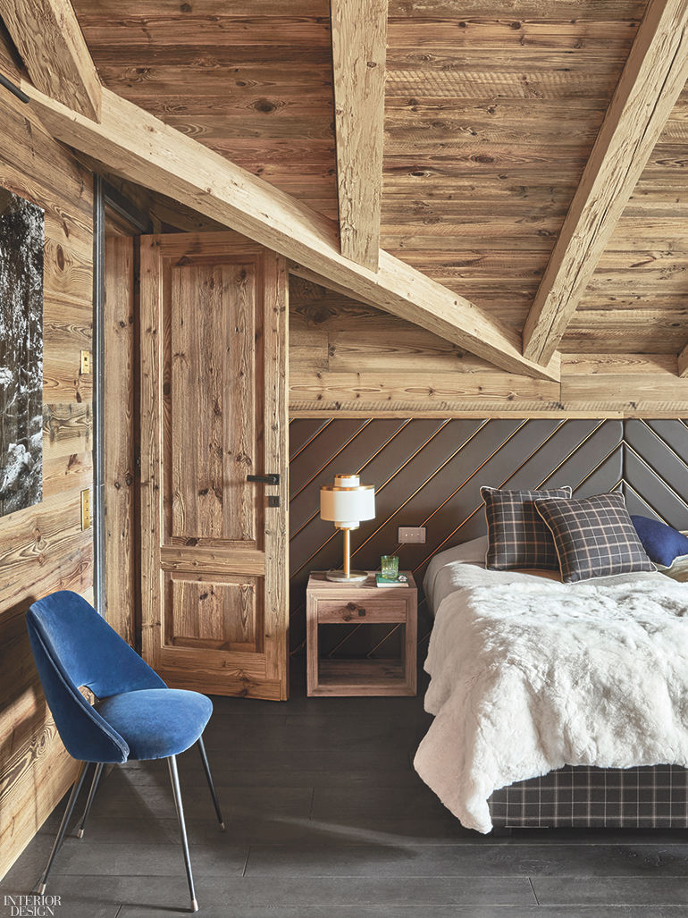 Ski Chalet Interior Design humbert & poyet combine rough and refined for the interior