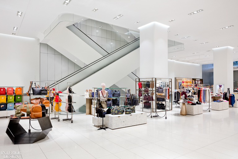 Nordstrom Opens Nyc Flagship Featuring Waveforms Facade By James Carpenter Design Associates Interior Design Magazine