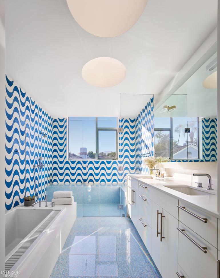 10 Spaces Designed With Colorful Tiles Interior Design Magazine