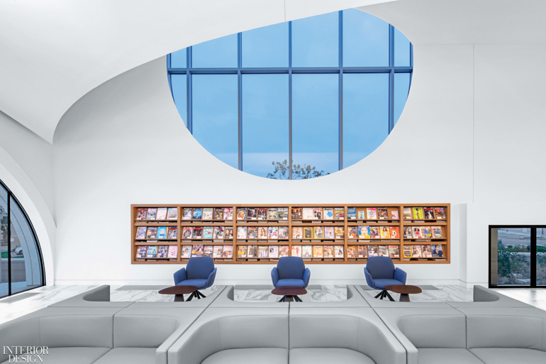 The Costa Mesa Donald Dungan Library Reinterprets Historic West Coast Architectural Styles Interior Design Magazine