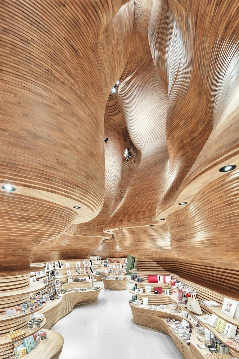National Museum of Qatar Gift Shop by Koichi Takada Architects: 2019 Best  of Year Winner for Mixed Retail   Interior Design Magazine