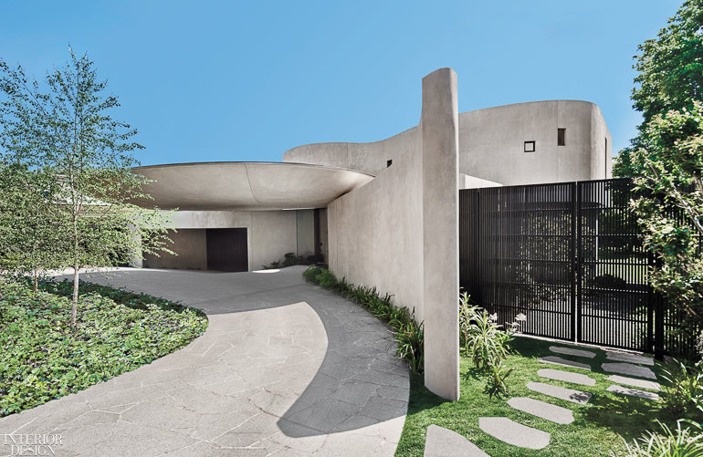 Firms Join Forces To Give Organic Form To A Family Villa In Melbourne
