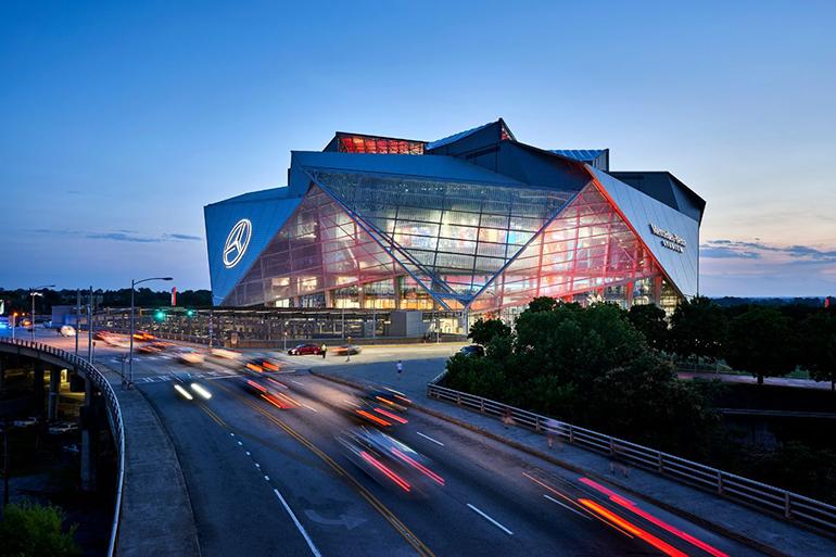 Super Bowl Exclusive 5 Cool Design Features Of Mercedes Benz Stadium