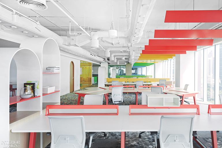 Roar's Pallavi Dean Uses Color Psychology to Define Work Spaces at