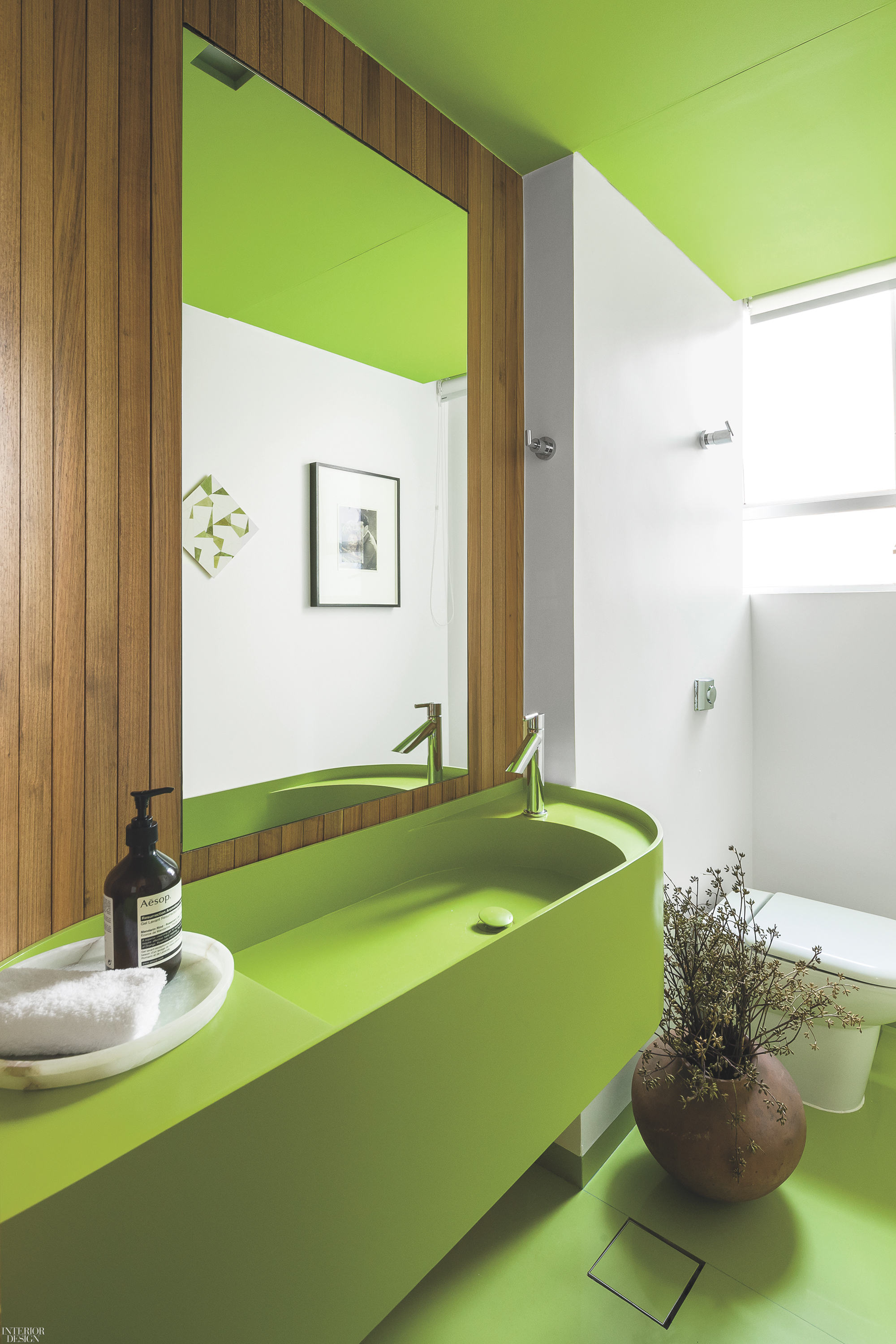 Green Interior Ideas For Your Home: Seeing Green: 25 Interiors To Inspire You On St. Patrick's Day
