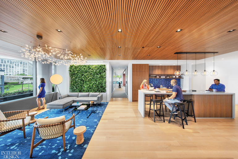 Perkins Will Blurs Work Leisure Lines For Madison Marquette S Washington D C Headquarters Interior Design Magazine