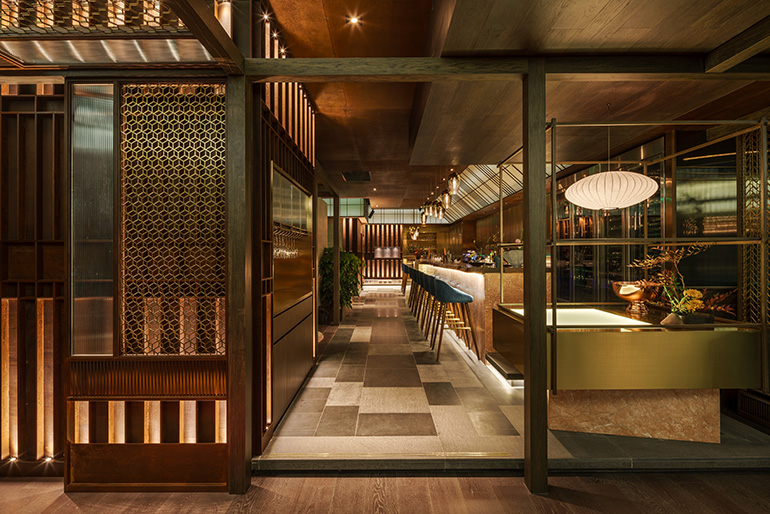 Red Design Looks To The Sea For Western Japanese Fusion