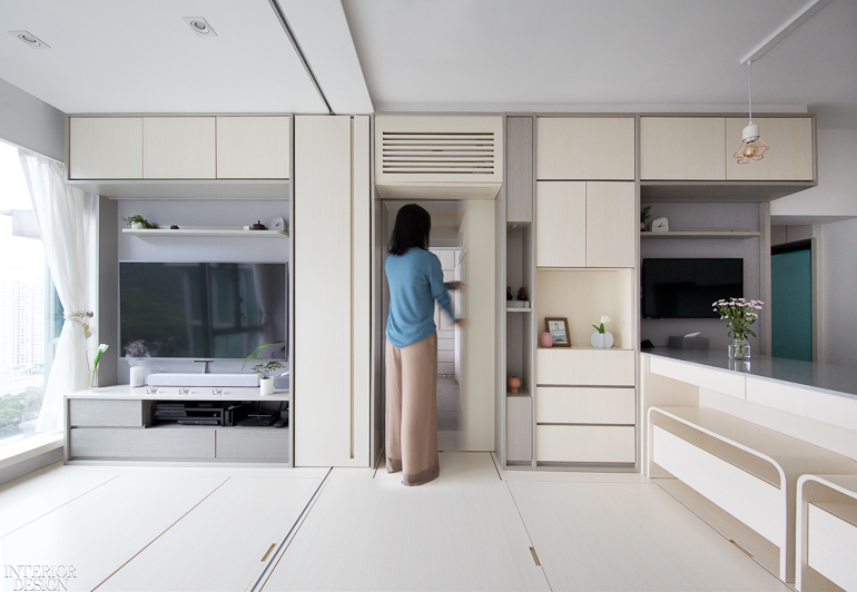 Sim Plex Blends Smart Tech And Feng Shui In Tiny Hong Kong House Interior Design Magazine