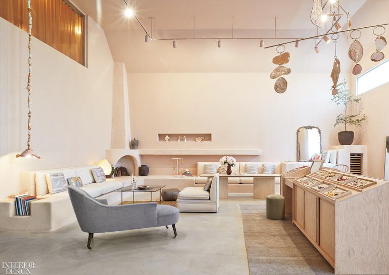 Collaboration Between Pamela Shamshiri And Sonia Boyajian Births Chic Jewelry Store Interior Design Magazine