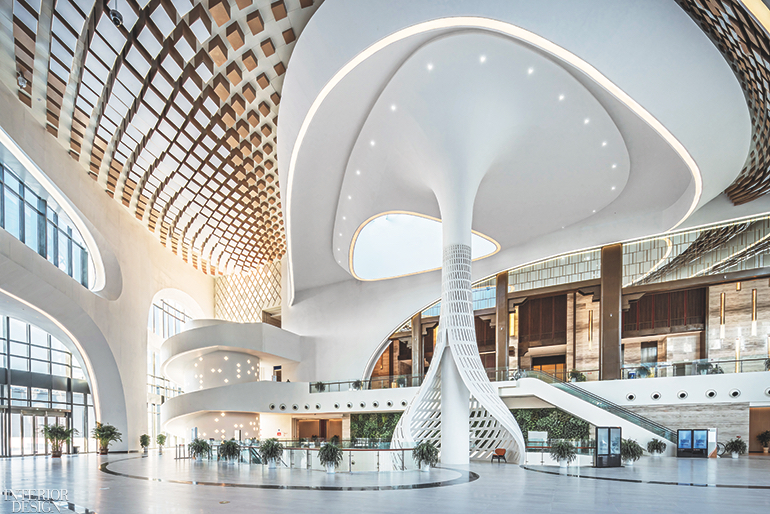 China Railway Qingdao World Expo City Conference Center By