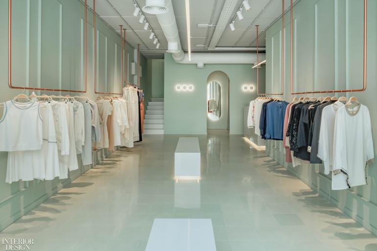 Three Studios Interprets Rococo Masterpiece For Ayla Boutique In Lebanon Interior Design Magazine