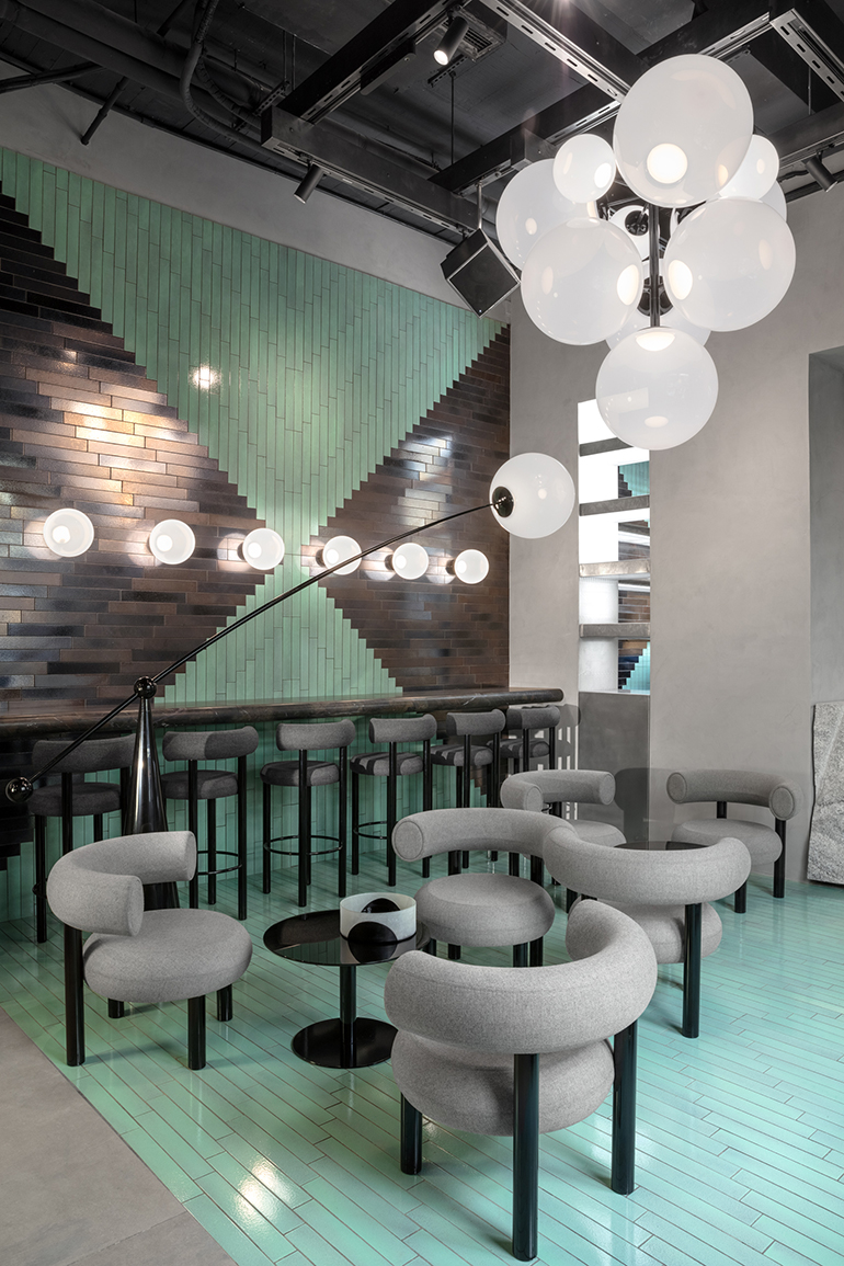 Peachy Tom Dixon Opens Restaurant Showroom The Manzoni In Milan Gmtry Best Dining Table And Chair Ideas Images Gmtryco