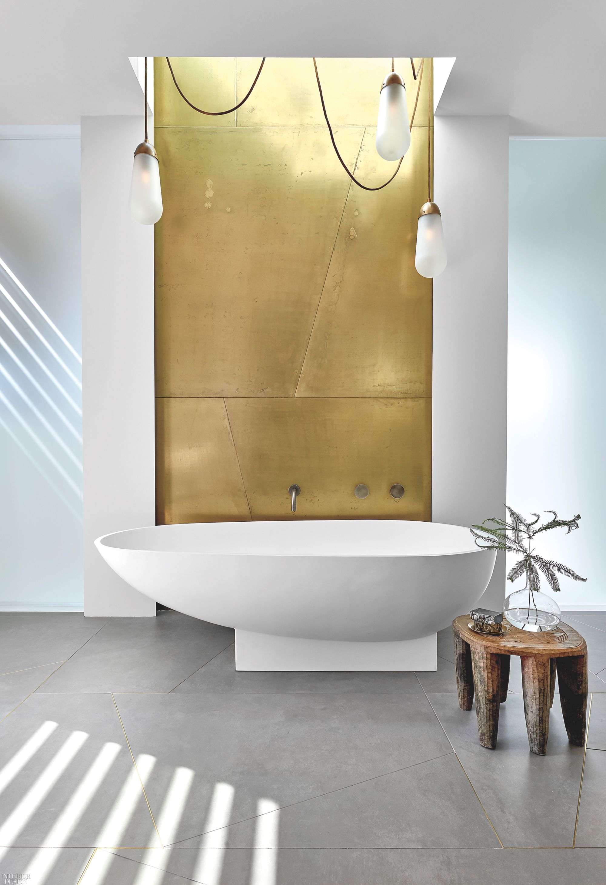 6 Perfectly Tranquil Bathtubs  Interior Design Magazine