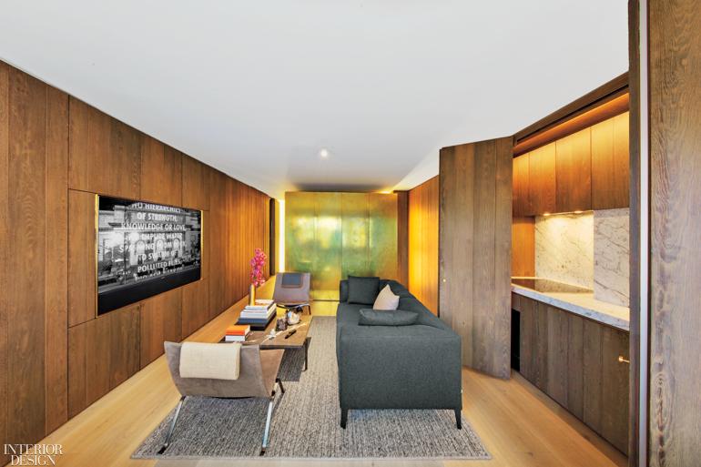 Messana O Rorke Embellishes A Tiny West Village Apartment With Brass Interior Design Magazine