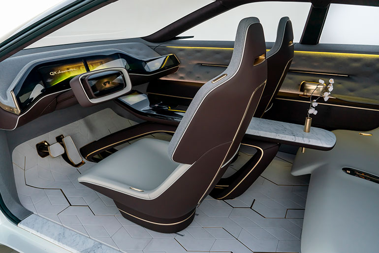 Cool Infiniti Eyes The Future With Electric Concept Vehicle And Interior Design Ideas Tzicisoteloinfo