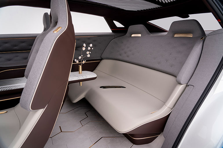 Strange Infiniti Eyes The Future With Electric Concept Vehicle And Interior Design Ideas Tzicisoteloinfo