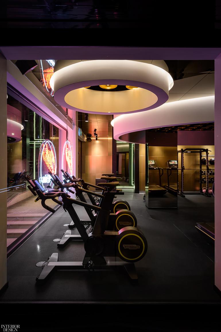 This Fitness Studio In Porto Portugal Is Reminiscent Of A 70s Disco Interior Design Magazine