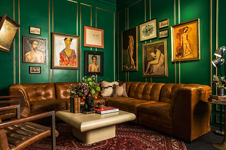 Ken Fulk Designs Opulent Lounges For New York Fashion Week