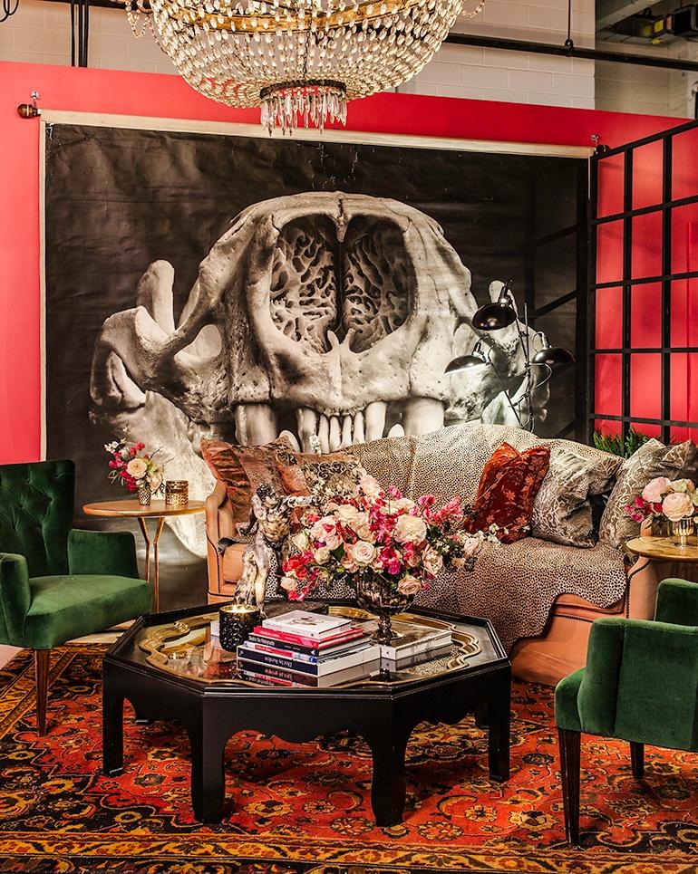 Ken Fulk Design San Francisco: Ken Fulk Designs Opulent Lounges For New York Fashion Week