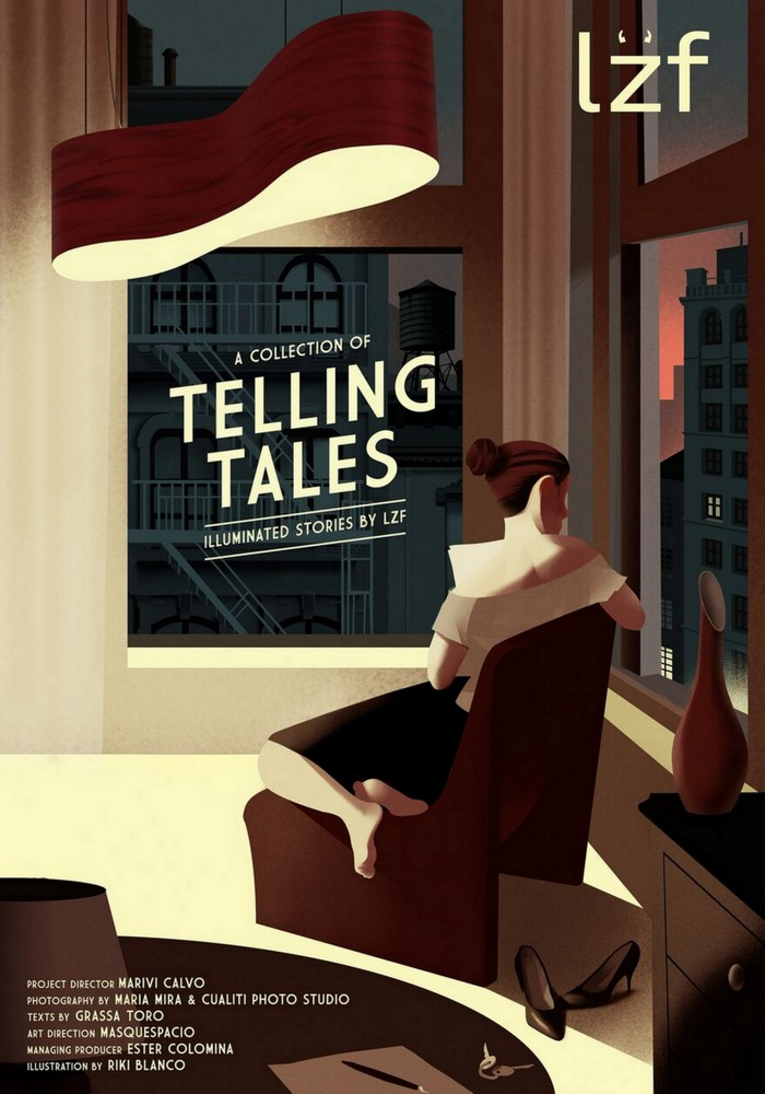 Telling Tales: Illuminated Stories by LZF Lamps