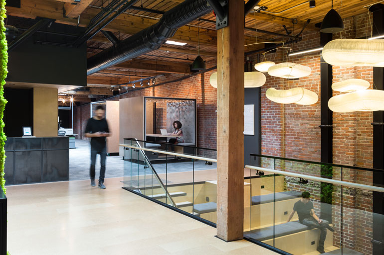 For Slack S Vancouver Office Leckie Studio Updates Industrial