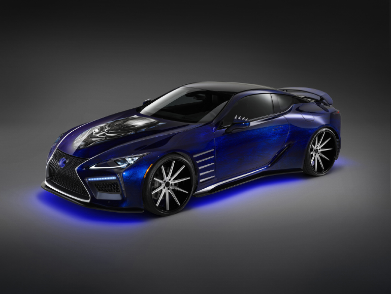 Lexus Lc 500 Stars In Marvel S Black Panther And New York Fashion Week