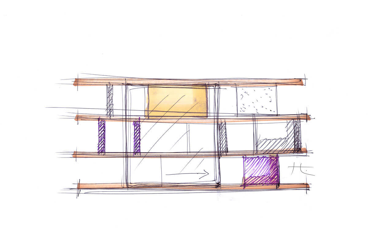 Furniture Sketches Mauro Lipparinis Bold Sketches Infuse Possibility Into Furniture