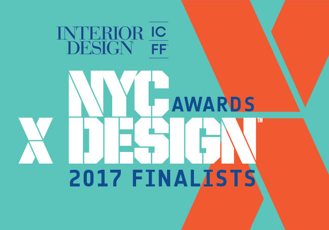 Interior Design And ICFF Are Pleased To Announce The Finalists Second Annual NYCxDESIGN Awards Program Celebrates Outstanding Talent Across Major