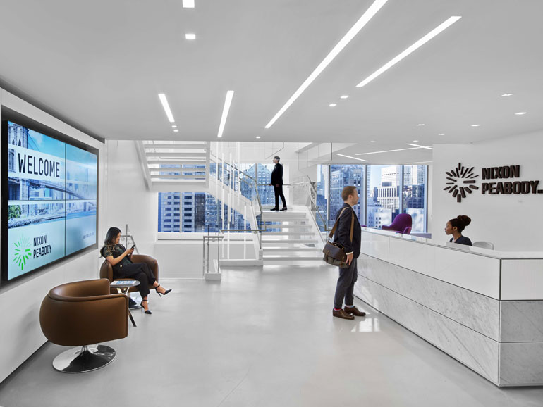 newest collection a003b 07617 Perkins + Will Creates a Contemporary Office for Nixon ...