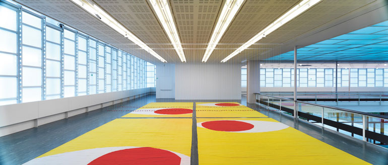 Polly Apfelbaum?s Colorful Carpets Take Over Vienna?s Belvedere 21