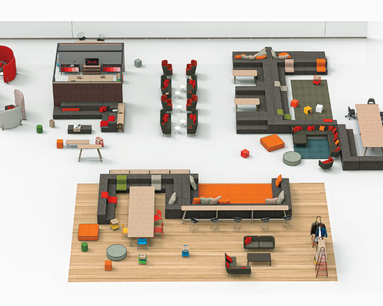 #IDneocon: David Rockwell Designs His First Ever Office Furnishings, For  Knoll