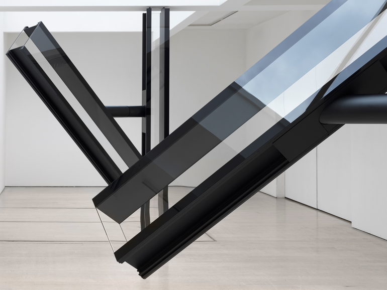Artist Sarah Oppenheimer Reconfigures A London Gallery With An