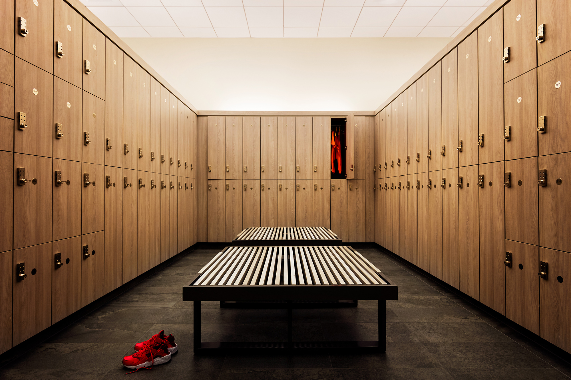 Inside Gym Changing Rooms