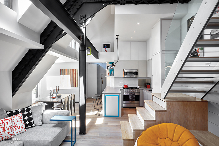 Am Mor Architecture Brings Out The Best In A Tiny Manhattan Duplex