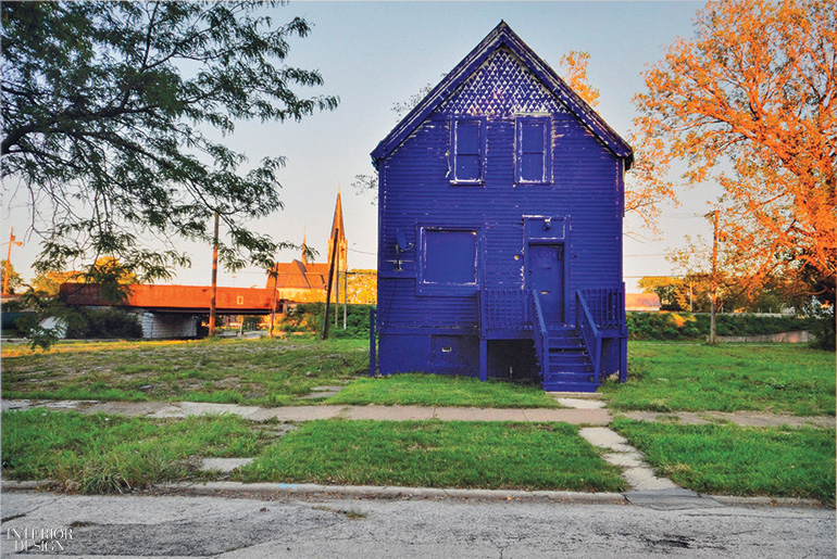 Amanda Williams Paints Chicago 39 S Vacant Houses In Bold Colors