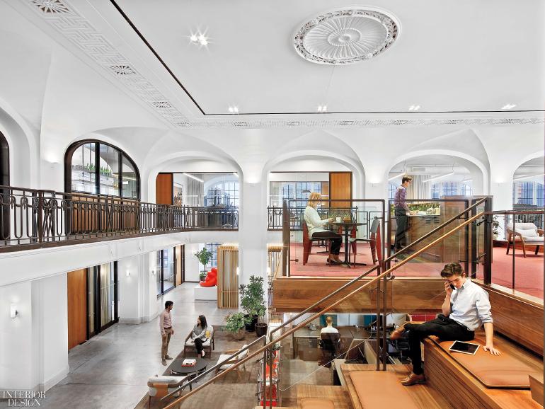 andrew franz modernizes nyc beaux arts marvel into financial office rh interiordesign net