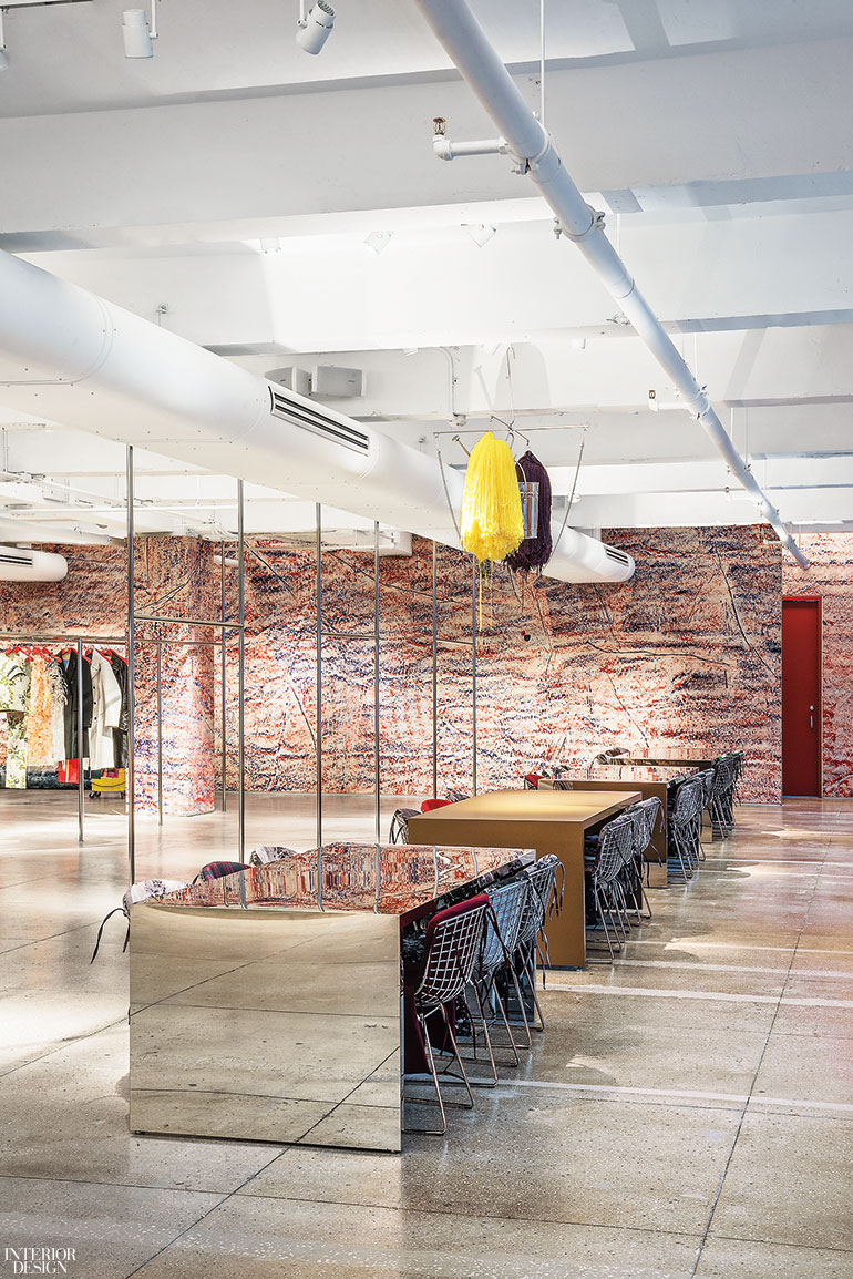 calvin klein s nyc showroom re envisioned by architecture research