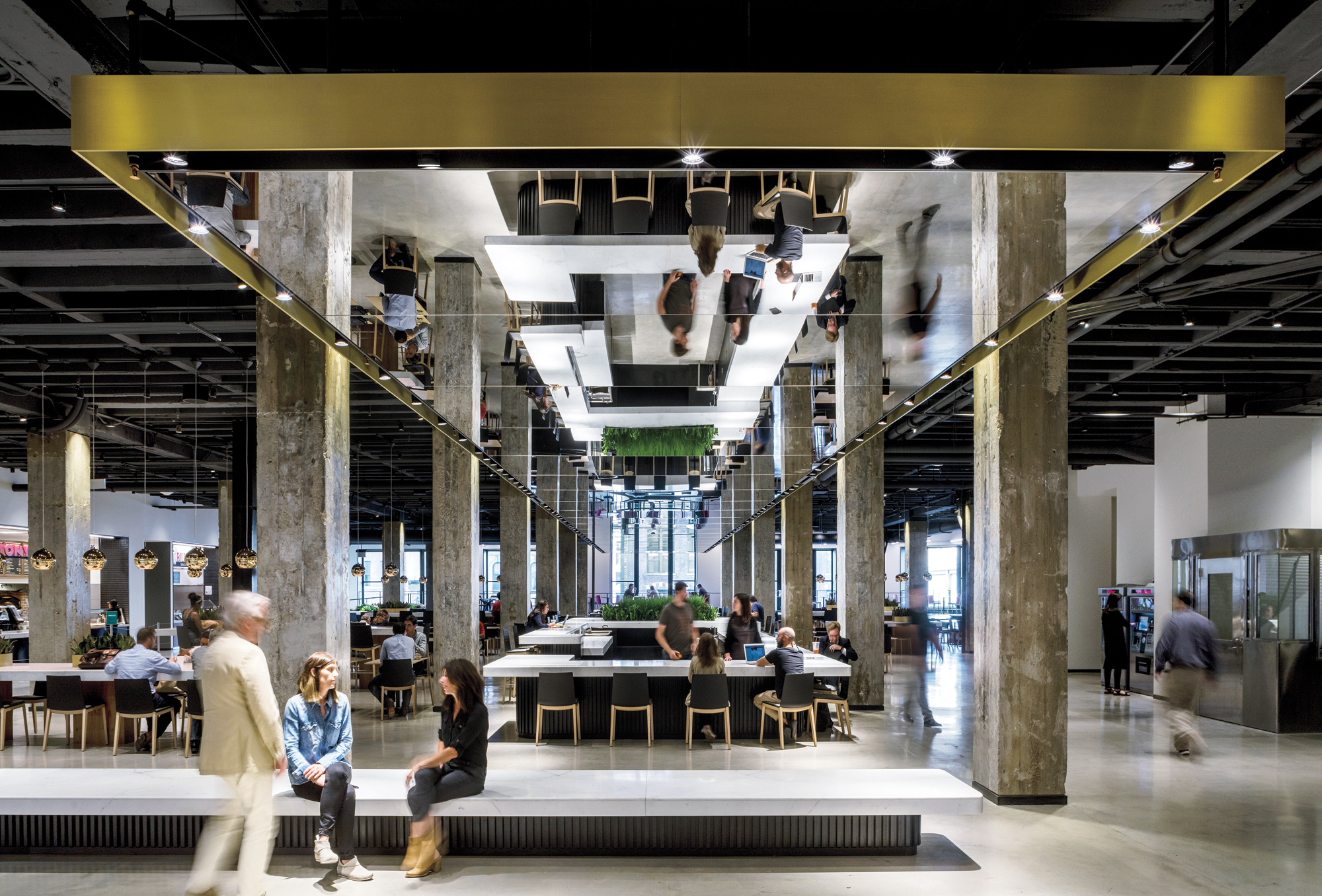 Mart food hall by a i 2016 best of year winner for for Best hall designs