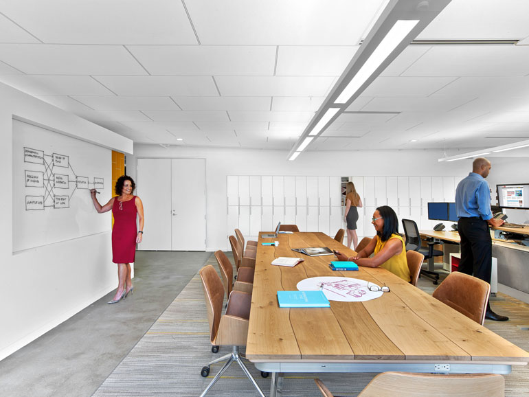 ASID Headquarters Becomes World's First Space To Earn LEED And WELL Enchanting Asid Interior Design