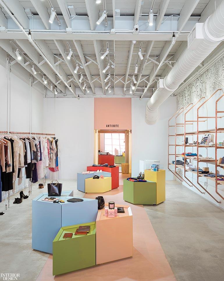 Atelier De Yavorsky Dreams Up Antidote A Design Inspired Womenswear Boutique In Miami Interior Design Magazine
