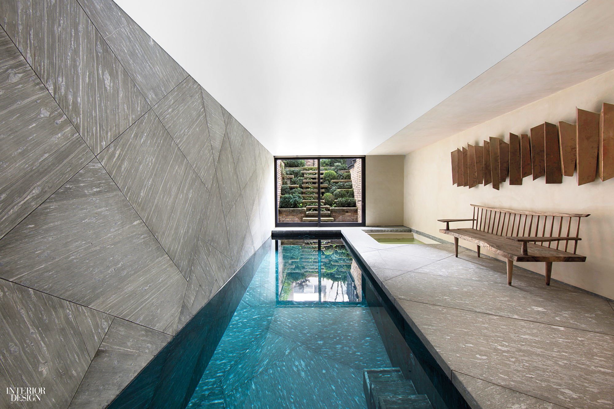 Indoor pool Small Excavating Below The Basement Of London Townhouse By Lionel Jadot Allowed For An Indoor Pool Seemingly Carved Out Of Quartzite Interior Design Simply Amazing Indoor Pools