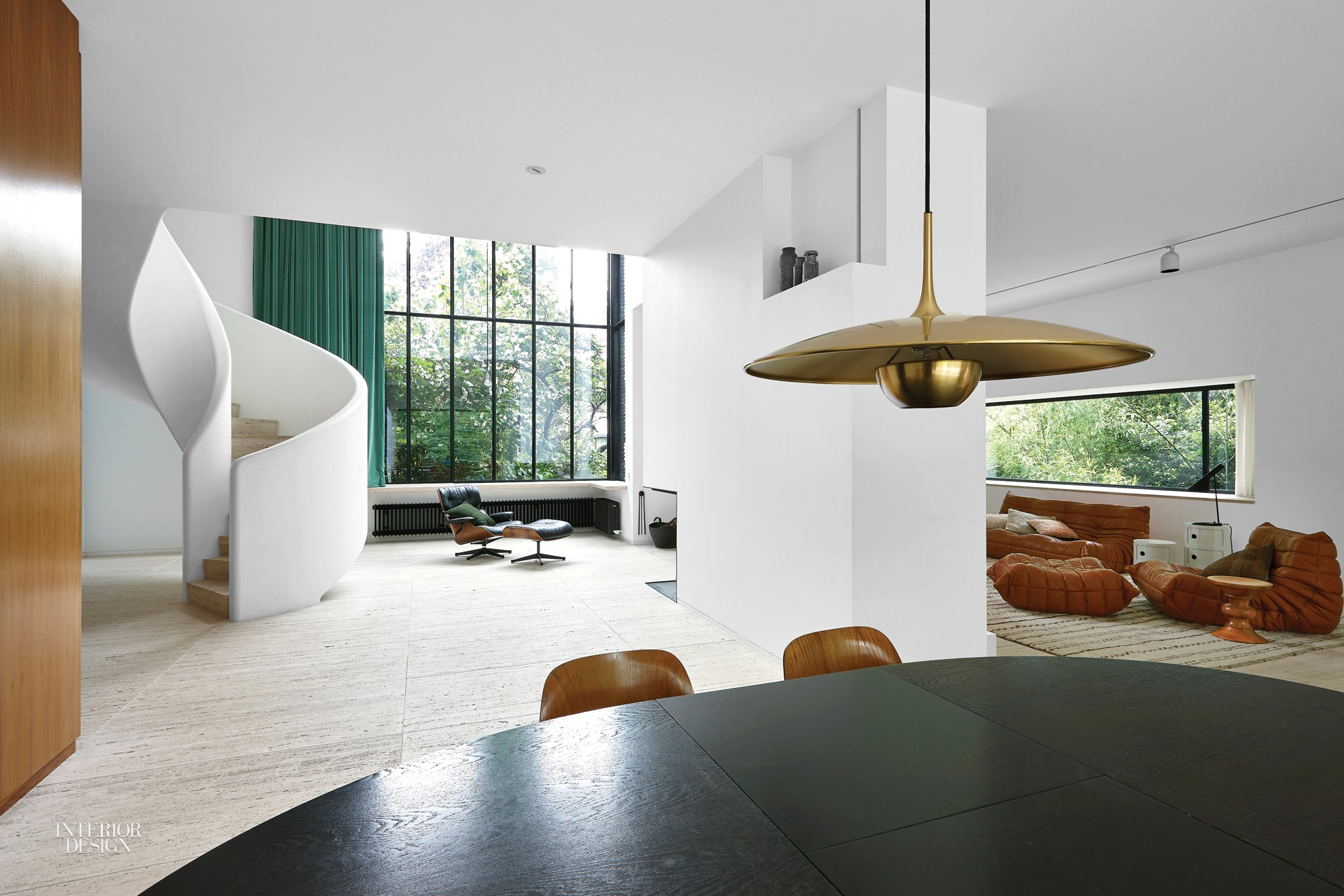 Beau Florian Schulz Designed The Pendant Fixture Over The Dining Table.  Photography By Jan Verlinde.