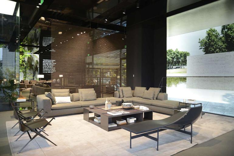 Citterio-Viel & Partners Shape B&B Italia\'s Shanghai Debut
