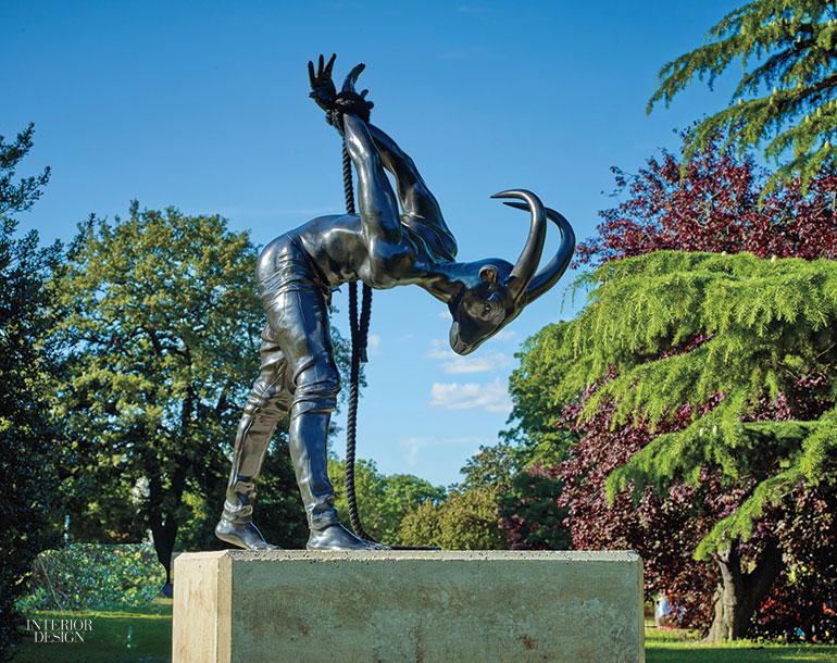 Frieze Sculpture Brings 22 Large Scale Artworks to Regent's Park